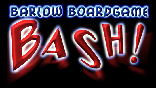Barlow Board Game Bash Logo